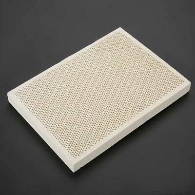 Ceramic Honeycomb Block Soldering Plate Holes Jewelry Heating Board 135x95x13mm