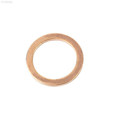 215F 20PCS/Pack Copper Washer Solid Gasket Sump Plug Oil Seal Kit 12X16X1MM