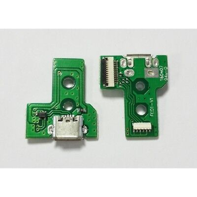 connector micro port usb pcb 12 pin f001-v1 jds-030 for controller ps4 #16837