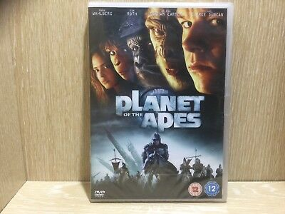 Planet of the Apes DVD Region 2 New & Sealed Mark Wahlberg