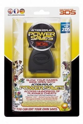 Action Replay Powersaves Cartridge Makeup Includes Pokémon 3Ds - 2Ds #14317