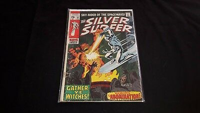 Silver Surfer #12 - Marvel Comics - January 1970 - 1st Print