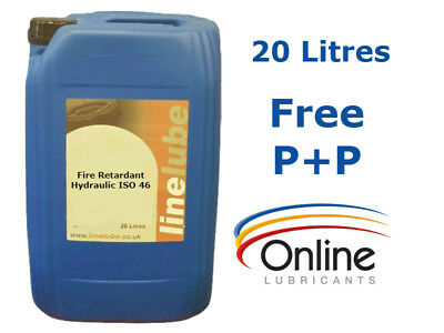 LineLube Biodegradable Fire Retardant Hydraulic Oil ISO 46 20 L 20 Litre