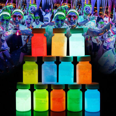 20g Acrylic Luminous Pigment Glow In The Dark Paint Party Wedding Bling Liquid