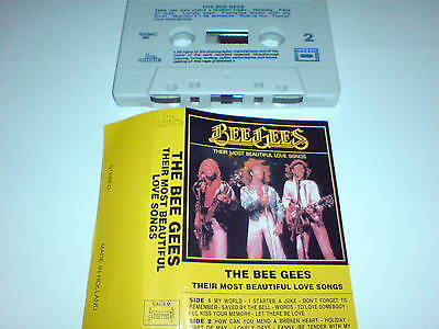Bee Gees - Their Most Beautiful Love Songs - Cassette Album