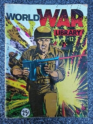 World War Library #12 comic digest size Chatto cover