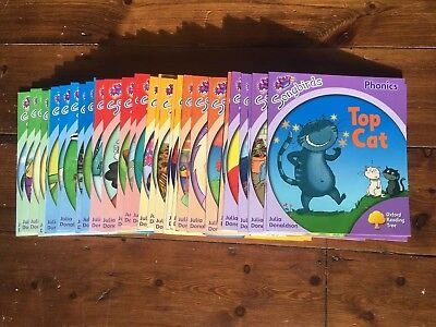 Oxford Learning Tree Songbirds Collection Phonics 36 Books Levels 1-6