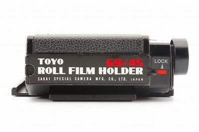 Exc* Toyo 69/45 Roll Film Holder for 4x5 Camera 6x9 Film Back from Japan