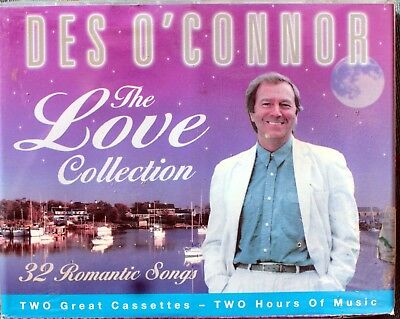 Des o'Connor, The Love Collection Cassette 2 Cassette Tapes New/Sealed