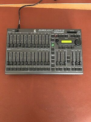 Behringer EuroLight LC2412 Professional  24 Channel DMX lighting console