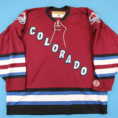 Vintage COLORADO AVALANCHE Jersey ~ Men XXL │ Patrick Roy NHL Hockey Authentic