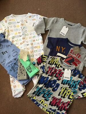 Next Baby Boy Brand New With Tags Clothes Bundle 6-9 Months