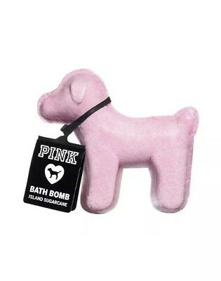 Victoria's Secret PINK Dog Island Sugarcane Bath Bomb Fizzy Limited Edition, NWT