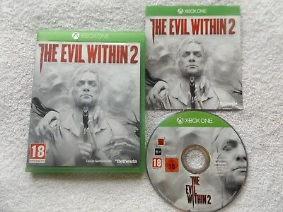 THE EVIL WITHIN 2 XBOX ONE V.G.C. ( action/adventure, FPS & survival horror )
