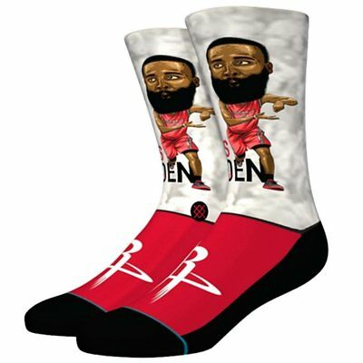 a1f30962b95 Chaussettes Stance Nba Houston Rockets Harden Big Head Multicolore Homme