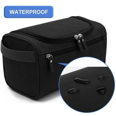 Portable Hanging Toiletry Bag Travel Wash Bag for Men & Women Foldable Compact