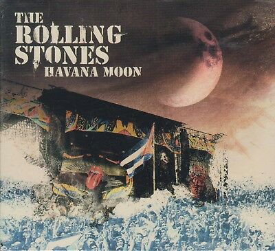 SEALED - Havana Moon NEW The Rolling Stones 2 CD's & 1 DVD NOW SHIPPING !!!