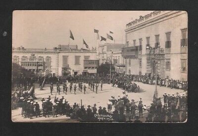 Malta - Rppc - Postcard  - Scouts Group Activity Valletta - Chretien Malta 1918
