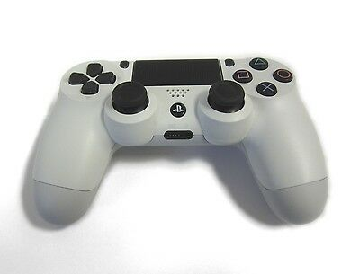 Genuine PS4 Dual Shock 4 PlayStation 4 Controller White Sony (Refurbished)