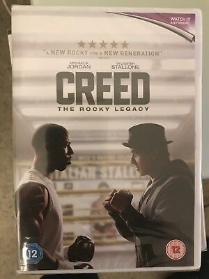 CREED The Rocky Legacy (DVD, 2016) Sealed