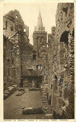 Orkney Interior Of Bishop'S Palace & Cathedral Tower Kirkwall