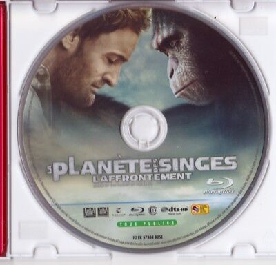 La Planete Des Singes : L'affrontement - Blu-Ray 2D Du Film Uniquement