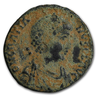 Western Roman Empire Bronze As Emp. Gratian (367-383 AD) - SKU#184296