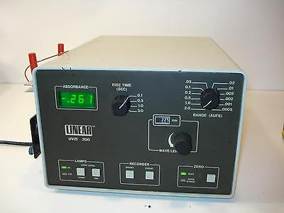 Linear UVIS 200 Variable Wavelength Absorbance Detector 0200-0000