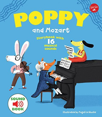 Le Huche Magali (Ilt)-Poppy And Mozart (UK IMPORT) BOOK NEW