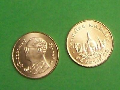 Thailand  2009  25 Satang   Rare Uncirculated Coin