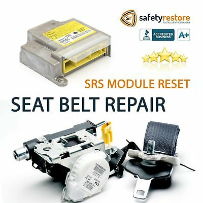 #1 Mercedes Seat Belt Repair Buckle Pretensioner Rebuild Reset Recharge Seatbelt