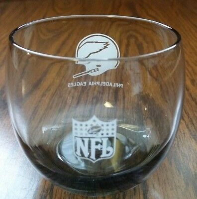 Pre-Owned NFL Football Philadelphia Eagles 12oz. Drinking Glass - Free Shipping