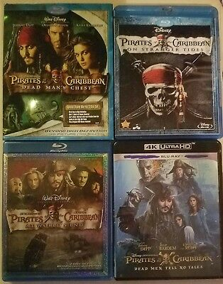 Pirates Of The Caribbean Collection: (Blu-ray) CHOOSE, & Combine Shipping!!