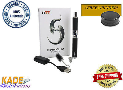 AUTHENTIC YoCan EVOLVE-D Dry Herb Kit Free Fast Shipping!!