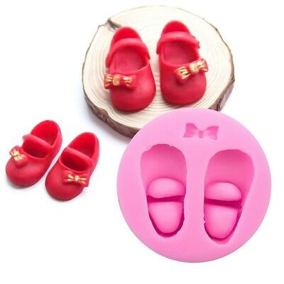 1 Pc Baby Shoes Food Grade Silicone Soap Chocolate Cake Molds Cake Decorate