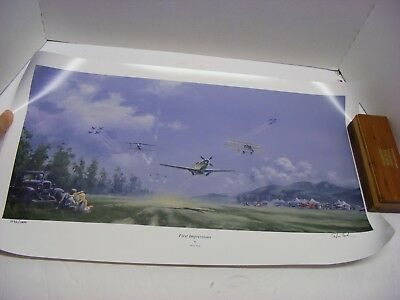 First Impressions by Steve Tack Signed & Numbered lithograph 496/1000 FREE S&H