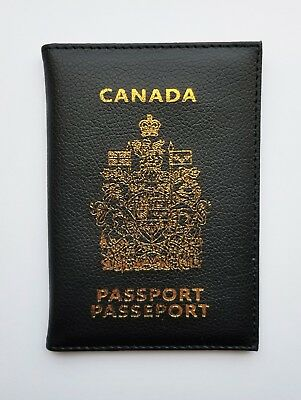 Canadian Passport Cover Holder ID Organizer Document Travel Luggage