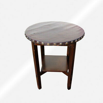 Antique Stickley Brothers Lamp Table  inv3310