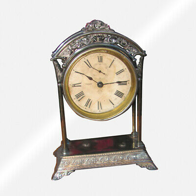 "Antique American ""Ansonia"" Table Clock Circa 1875   inv5028"