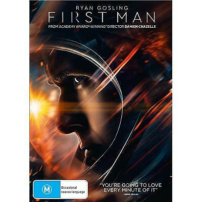 First Man Dvd, New & Sealed, 2019 Release, Free Post