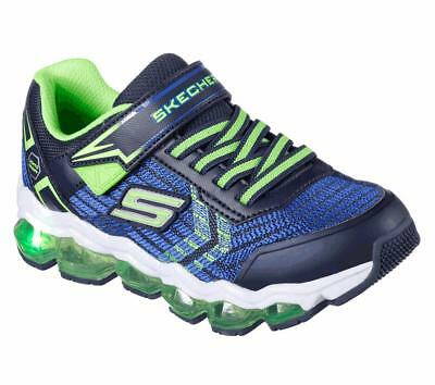 8f719f0f9708 Skechers S Lights  Turbo - Flash Trainers 90595L Boys Light Up Sneakers  Shoes