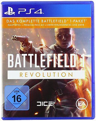 Battlefield 1 - Revolution + 2x Steelbook!!- Sony PS4 [Neu & Ovp] PlayStation 4