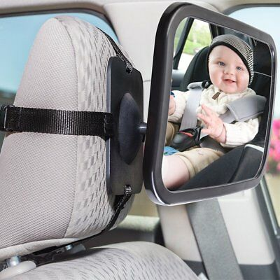 360 Degree Baby Kid Mirror Back Car Seat Cover for Rear Ward Safety View BE