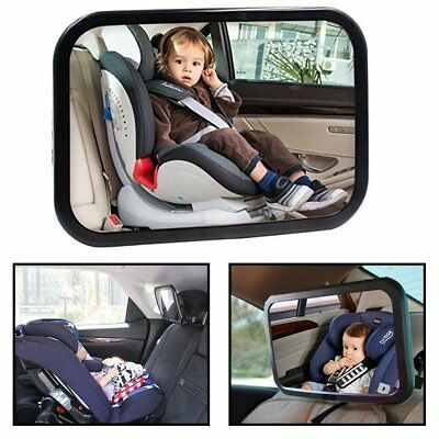 Adjustable Wide Car Rear Seat View Mirror Baby/Child Seat Car Safety Monitor BE