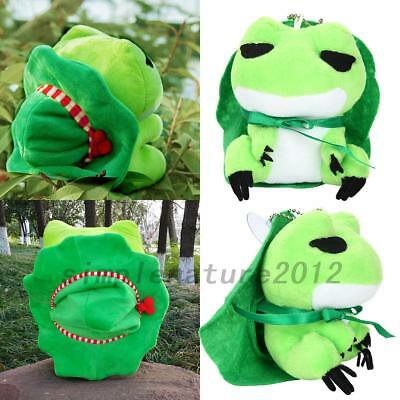 Useful Plush Toy Travel Frog Doll Birthday Doll Girl Intimate Pendant Gift NEW