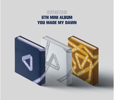 Seventeen 6Th Mini Album  -You Made My Dawn- 3Version Set, Sealed, Tracking Num