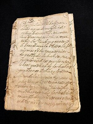 LOT OF EIGHT SPANISH DOCUMENTS from 1600s  22 pages