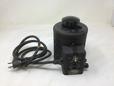 Superior Electric Co. Powerstat 216 Autotransformer TESTED WORKS GREAT