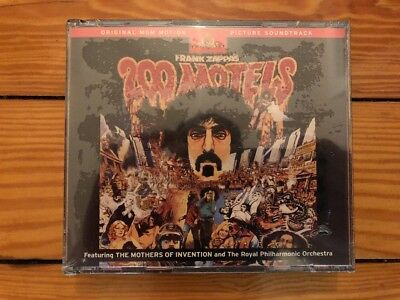 Frank Zappa ‎– 200 Motels 1971 Rykodisc ‎RCD 10513/14 Club 2CD Sealed Mint