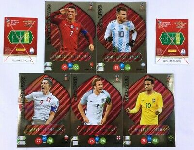 Limited Edition Lionel Messi PANINI ADRENALYN XL FIFA 365 2019 Messi